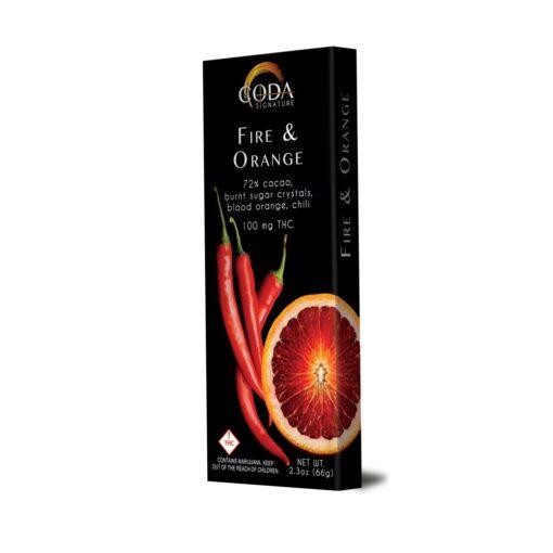 Coda Sign Fire and Orange Chocolate
