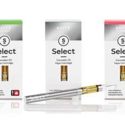Select Elite Cannabis Oil Cartridges