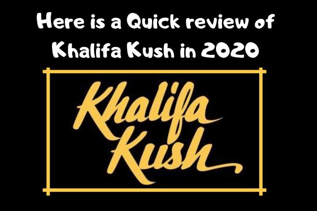 Khalifa Kush buy